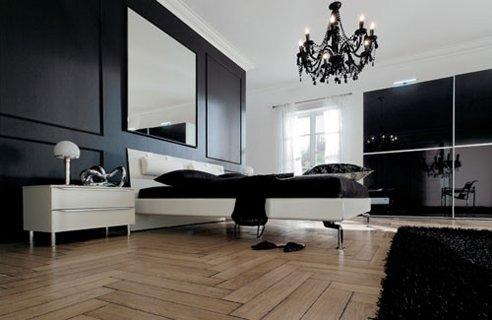 Modern-Black-Bedroom-Furniture-Wooden-Floor