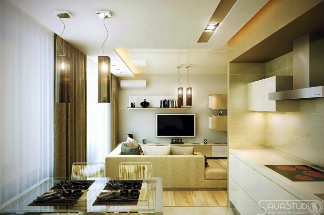 Modern-kitchen-diner-lounge-665x442