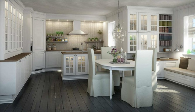 graceful-lightened-Norwegian-kitchen-665x384