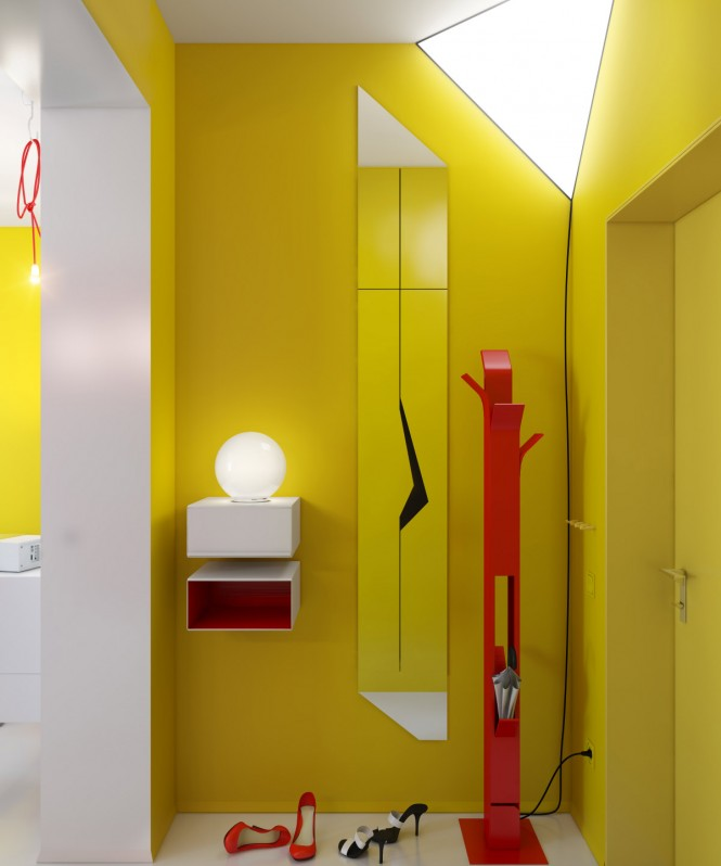 yellow-hallway-red-accents-665x798